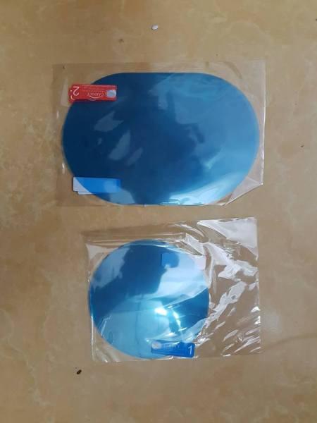 Combo 4 miếng dán chống nước gương chiếu hậu và kính bên ô tô - miếng dán chống đọng nước gương chiếu hậu ô tô, xe hơi