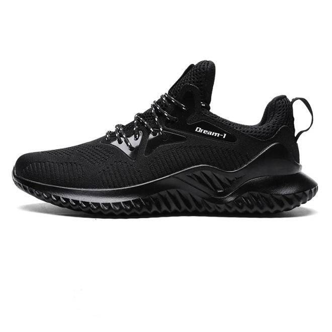 Giày Nam Thể Thao BAZAS SN1810 Black { Top 10 Mẫu Giày Được Ưa Thích Của Năm } giá rẻ