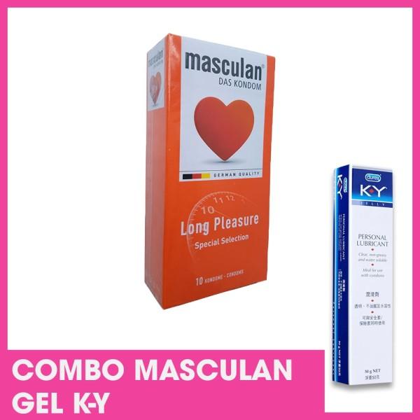 Combo Masculan - Gel K-Y