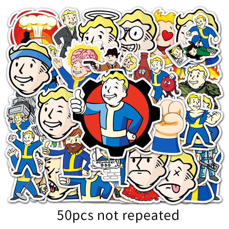 50Đĩa Game Bức Xạ Phim Hoạt Hình Graffiti Sticker Dán Xe Tay Ga Laptop Máy Tính Xe Ô TôDIYMiếng Dán Trang Trí Dán Xe Máy thumbnail