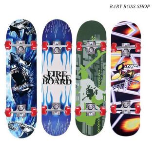 Ván Trượt Trẻ Em- Ván Trượt Skateboard- Thiết Kế Nhỏ Gọn - Ván Gỗ Dày Khung - Hợp Kim Chắc Chắn thumbnail