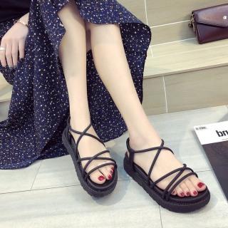 Giày sandal nữ nhựa dây tròn thumbnail