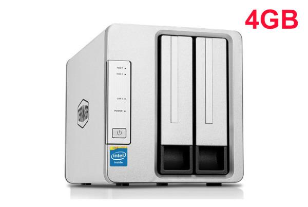 Bảng giá NAS TerraMaster F2-221, Intel Dual-core 2.0GHz, 4GB RAM Phong Vũ