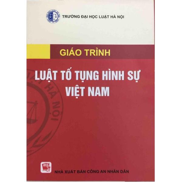 Mua Sách - Giáo trình Luật tố tụng hình sự Việt Nam