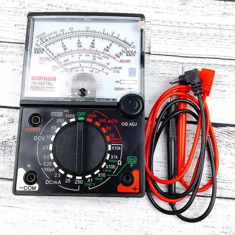 Đồng hồ đo VOM YX 360TRn kèm pin loại tốt