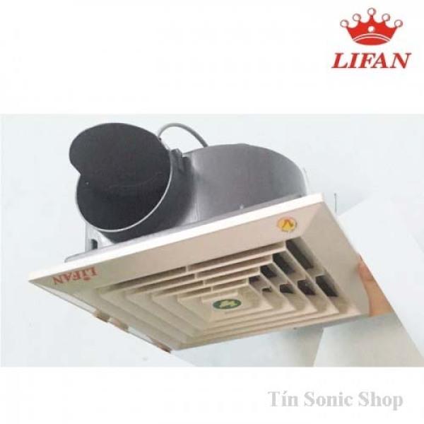 Quạt thông gió, quạt hút âm trần 1 chiều HT-20 Lifan có video sản phẩm