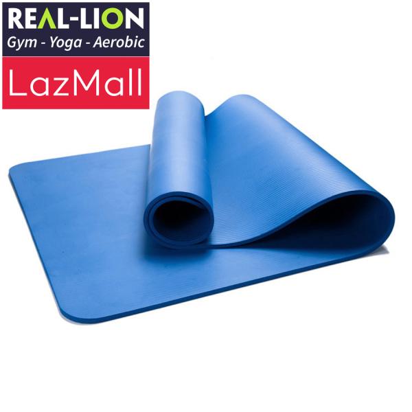 Bảng giá Thảm tập Yoga REAL-LION - Thảm Yoga mềm mại, êm ái (Tặng kèm túi và dây đeo) - RL21