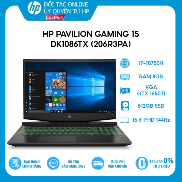 Bảng giá [VOUCHER 3 TRIỆU] Laptop HP Pavilion Gaming 15-dk1086TX (206R3PA) (i7-10750H | 8GB | 512GB | VGA GTX 1650Ti 4GB | 15.6 FHD 144Hz | Win 10) Phong Vũ