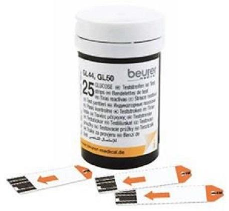 Nơi bán Que thử đường huyết Beurer GL50 (Lọ 25 que)