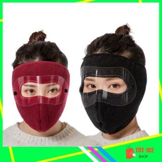 Khẩu Trang Ninja Nin Ja Nam Nữ Vải Nỉ Che Kín Mặt Chống Nắng Chống Bụi Có Kính HNX50 - Khau Trang Ninja Nin Ja Nam Nu Vai Ni Che Kin Mat Chong Bui Chong Nang Chong Ret Co Kinh - ShopTot102 thumbnail