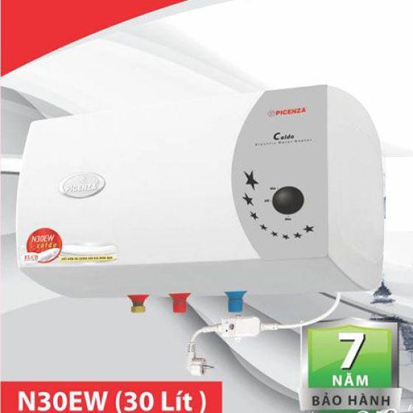 Bảng giá Bình nước nóng Picenza ngang 30 lít N30EW chống giật