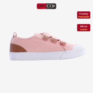 Giày Sneaker Dincox Coxshoes Chính Hãng E01 Pink, giày vải thể thao, giày Nữ Dincox, Giày thể thao đế bằng, giày độn chiều cao, giày vải, giày hottrend 2021, Giày đi chơi, giày chạy thể thao. thumbnail