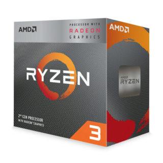 CPU AMD Ryzen 3 3200G (4C 4T, 3.6 GHz 4.0 GHz, 4MB) AM4 thumbnail