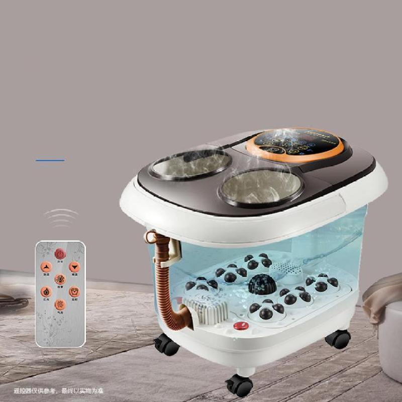 Bồn ngâm massage chân tự động - sủi bọt làm nóng nước(Có Remote)