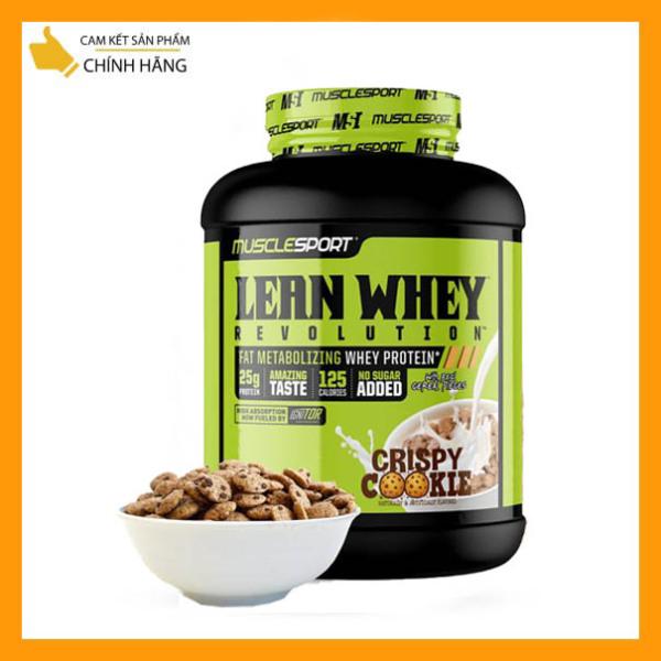 Sữa Tăng Cơ kết hợp CLA giảm mỡ thừa MuscleSport Revolution Lean Whey 5lbs