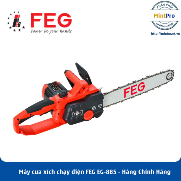 Máy cưa xích chạy điện FEG EG-885 - Hàng Chính Hãng