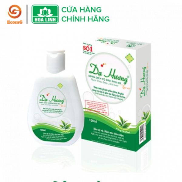 Dung dịch vệ sinh phụ nữ dạng gel Dạ Hương trà xanh cá tính 100ml- DH5-02