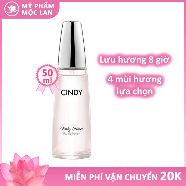 Nước hoa nữ thơm lâu, nước hoa Cindy có 4 mùi hương rất quyến rũ 50ml Pinky Sweet, Passionate, Classic, Golden Luxury - Mỹ phẩm Mộc Lan