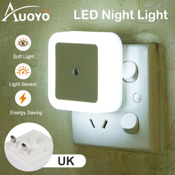 Auoyo Đèn Cảm Biến Hồng Ngoại Đèn led tự động sáng nhà vệ sinh thông minh sử dụng công nghệ cảm Bed Light Mini Wall Lights Auto On/Off Night Lights