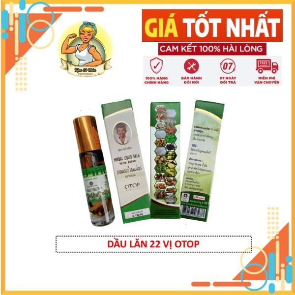 [HCM][Giá Cực Sốc] Dầu lăn 22 Vị Thảo Dược Thái Lan 8ml - Dầu Lăn Thái Lan - Herbal Liquid Balm - Yatim Brand