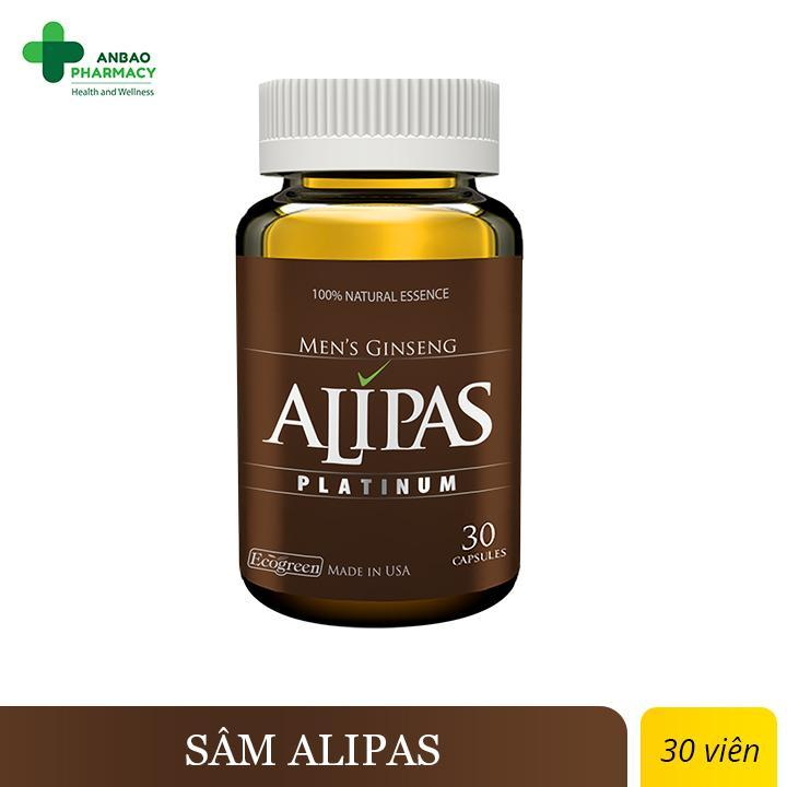 Sâm ALIPAS - Hỗ Trợ sinh lý nam nhập khẩu