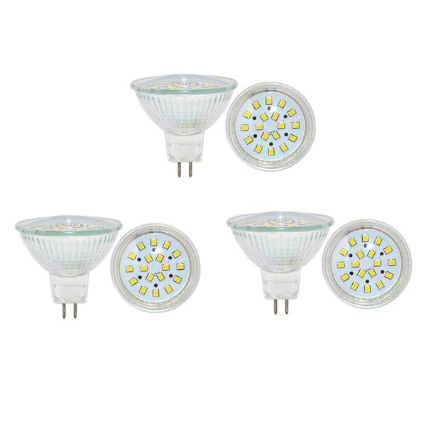 Bộ 3 bóng đèn Led (bóng Led chén) chiếu điểm chân ghim 5W