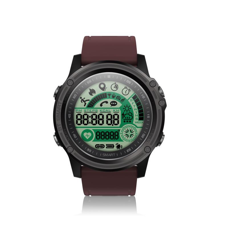 Lazada Ưu Đãi Khi Mua SENBONO S28 Sport Tracker Stopwatch Smart Watch Compass Waterproof Remote Control Call SMS Reminder Smartwatch Bluetooth 4.0