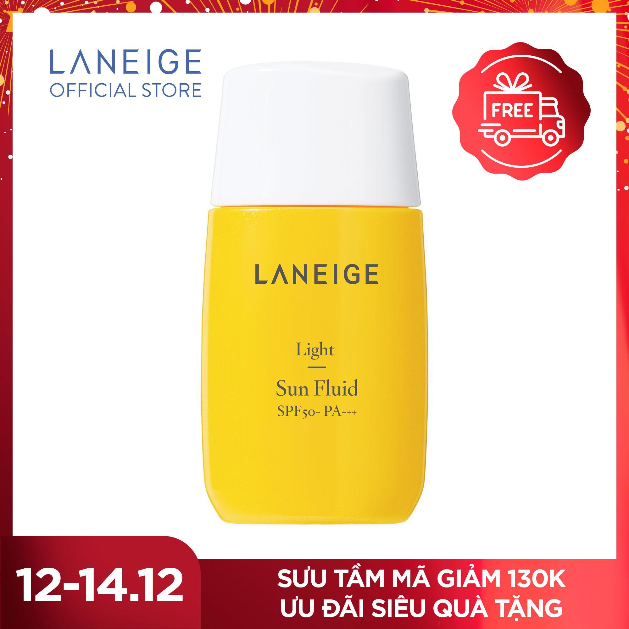 Deal Khuyến Mãi Kem Chống Nắng Cho Da Dầu Và Da Hỗn Hợp Laneige Light Sun Fluid SPF50+ PA+++ 50ml