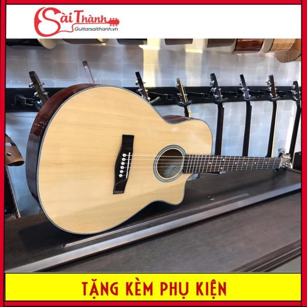 [Dành cho sinh viên,học sinh] đàn guitar acoustic action thấp cho người mới tập chơi