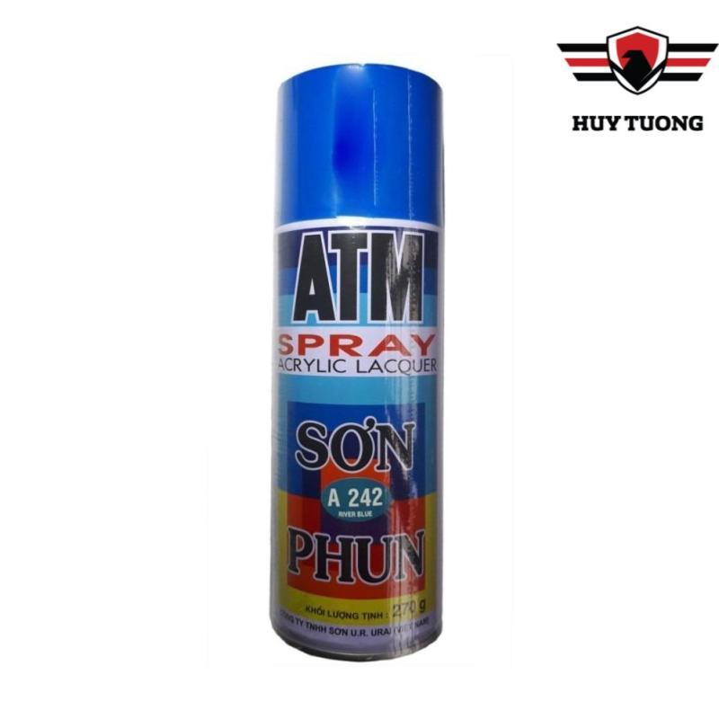 Sơn Xịt ATM Spray A242 ( Màu xanh dương ) - Huy Tưởng