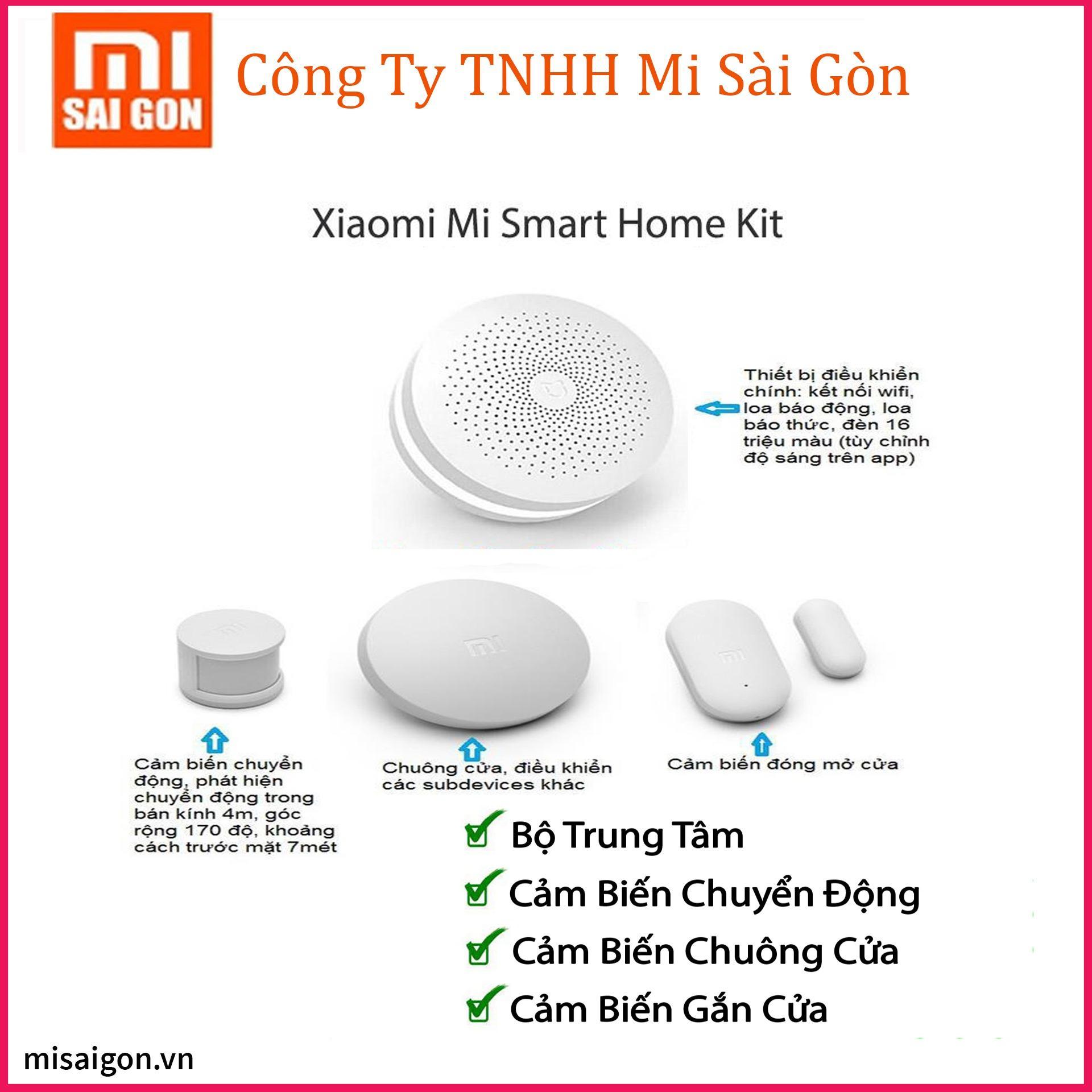 Bộ chống trộm thông minh xiaomi mi smart home kit (TRẮNG)