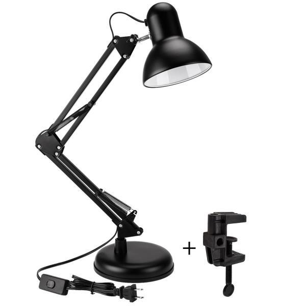 Đèn bàn làm việc có chân đế và kẹp bàn kiểu dáng Pixar MT822A- Tặng kèm bóng LED 5W (không lồi ra ngoài)