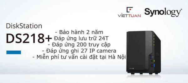 Bảng giá Thiết bị lưu trữ NAS Synology DS218+ Phong Vũ