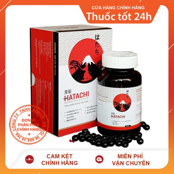 Hatachi Plus- Hỗ trợ điều trị tóc bạc sớm, ngăn rụng tóc, tăng cường sinh lực giá rẻ