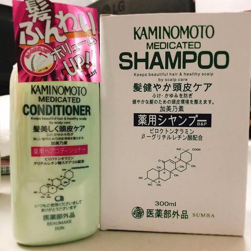 Dầu xả ngăn rụng tóc Kaminomoto