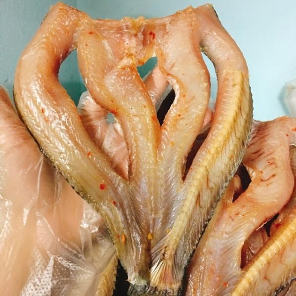 Khô Cá Lóc Đồng Rút Xương Vị Ngon Tự Nhiên, Mềm Vừa Chiên Thơm Ngon 500gr