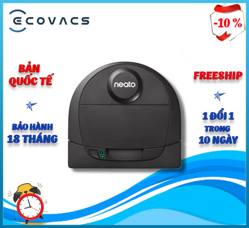 Robot hút bụi Neato Botvac D4 Connected .