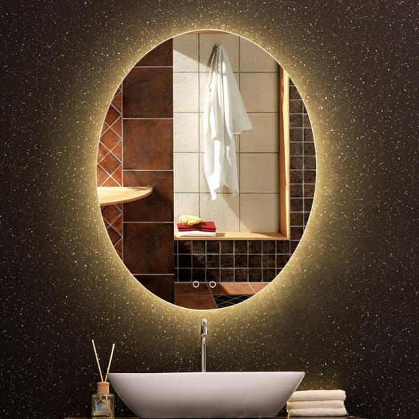 gương led bầu dục cảm ứng 3 chạm thông minh cao cấp kích thước 60x80 cm - guonghoangkim mirror giá rẻ