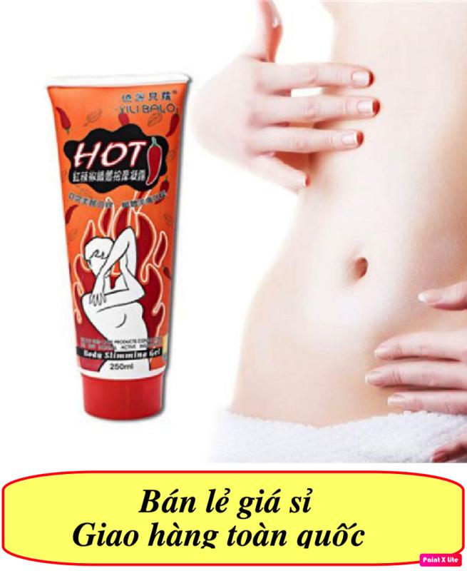 [CHUYÊN SỈ] COMBO 10 Kem tan mỡ bụng ớt Hot Body Slimming Gel (250ml)- Giảm cân tan mỡ lấy lại vóc dáng
