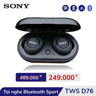 Tai Nghe Không Dây Kết Nối Bluetooth 5.0 D76 Loại Tốt - Công Nghệ TWS 5.0 Có Đủ Bas Treble - Pin Tích Điện - Bảo Hành 2 Tháng thumbnail