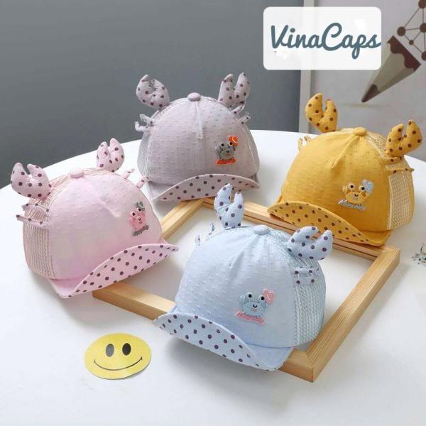 Giá bán Nón em bé, nón cho bé Cute vải Nhung mềm êm cực đẹp