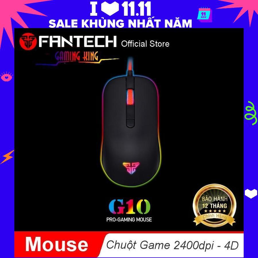 Chuột chơi game 2400dpi 4D Fantech G10 - Hãng phân phối chính thức