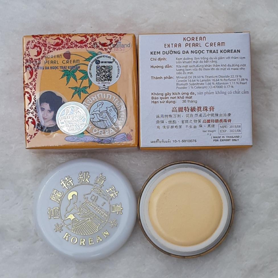 hộp nhỏ kem sâm Vàng Dưỡng da Ngọc Trai Thái Lan nhập khẩu