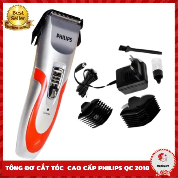Tông đơ cắt tóc chuyên nghiệp FREESHIP Tông đơ Philips QC-2019 2018