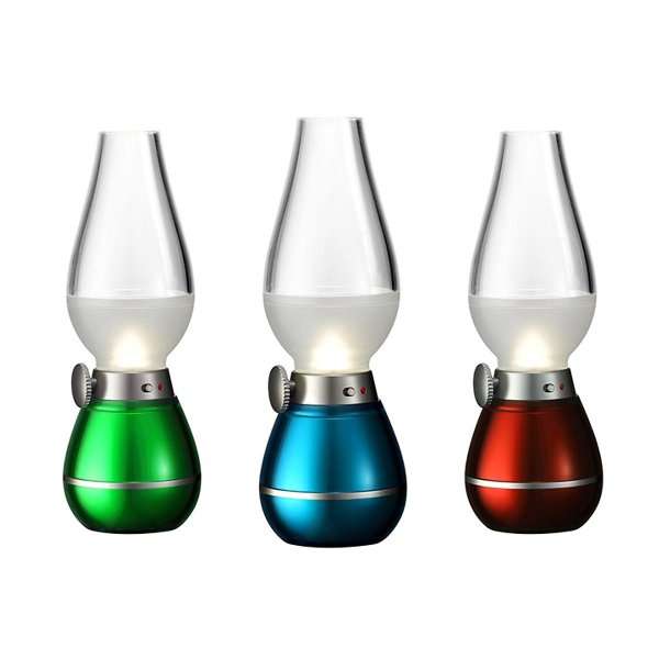 [ GIÁ SẬP SÀN ] Đèn Dầu Cảm Ứng Điện Tử LED -Đèn Thờ Cảm Ứng, Đèn Bàn Thờ Sạc Điện, Đèn Thờ Không Dầu Tích Điện Thông Minh, Cảm Biến Thổi Bật/Tắt + Tặng Kèm Sạc USB