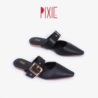 Giày Sục 1cm Bảng Ngang Khoá 3 Lỗ Pixie X755 thumbnail