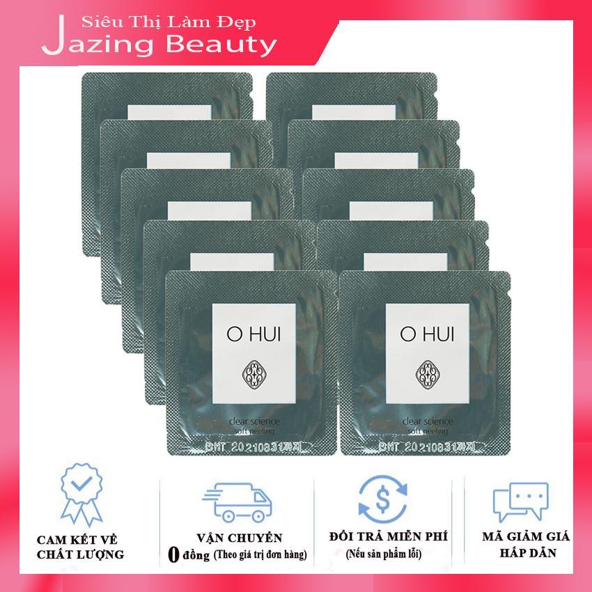 [Có Mã giảm Giá] Combo 10 Tẩy Tế Bào Chết Ohui Clear Science Soft Peeling 1mlx10 nhập khẩu