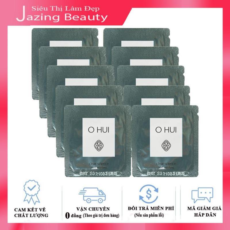 [Có Mã giảm Giá] Combo 10 Tẩy Tế Bào Chết Ohui Clear Science Soft Peeling 1mlx10