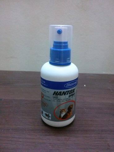 Thuốc xịt ve rận chó mèo Hantox 100 ml