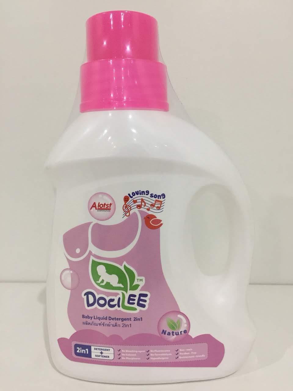 Dung dịch giặt xả cho bé Docilee 1000ml